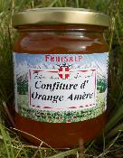 Confiture artisanale d'orange amère