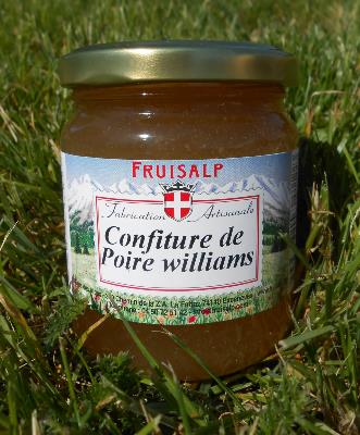 Confiture artisanale de poire williams