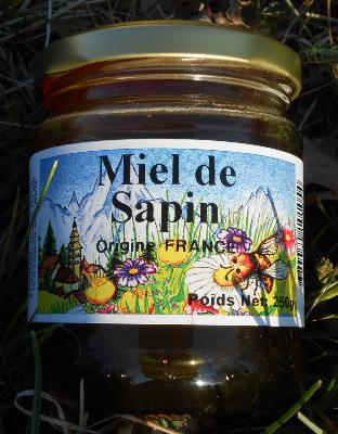 Miel de Sapin Origine France
