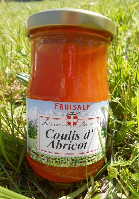 Coulis artisanal d' abricot